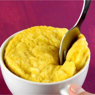 Pastelito en 5 minutos de Plátano