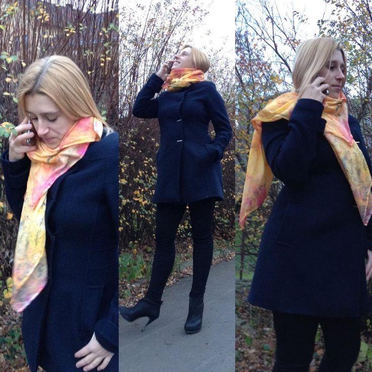 Sunny scarf - Merkurio by Petr Jáchym www.petrjachym.cz
