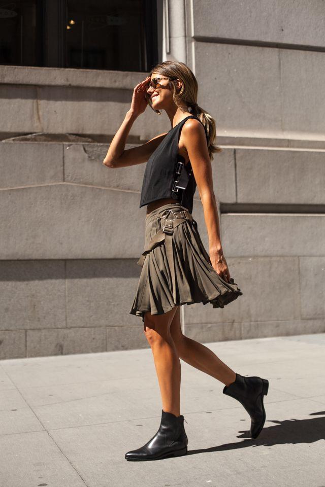 Неделя моды в Нью-Йорке, весна-лето 2016: Street Style, Часть 6