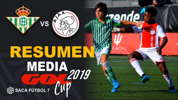 Resumen Real Betis vs AFC Ajax Media Gol Cup 2019 Alevín