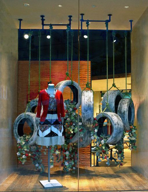 Breakfast at Anthropologie: Earth Day Anthropologie Windows