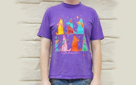 Vintage 80s J. Low Purple Coyote Chorus Line by SycamoreVintage
