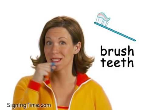 55 Top Bedtime Routine Teaching Resources   Sign Language For Baby Teeth