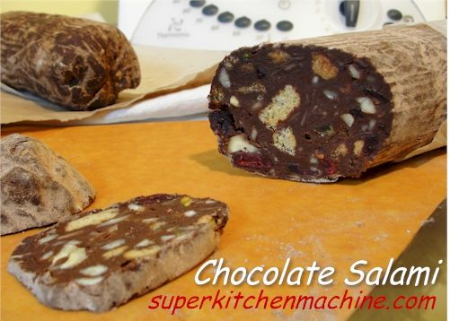 Chocolate salami thermomix recipe