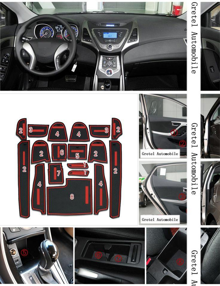 $15.24 (Buy here: https://alitems.com/g/1e8d114494ebda23ff8b16525dc3e8/?i=5&ulp=https%3A%2F%2Fwww.aliexpress.com%2Fitem%2FFor-Hyundai-Elantra-2012-2015-Car-Anti-slip-dust-mat-sticker-gate-slot-pad-door-carpets%2F32722743826.html ) For Hyundai Elantra 2012-2015 Car Anti slip dust mat sticker gate slot pad door carpets Interior cup holder decoration for just $15.24