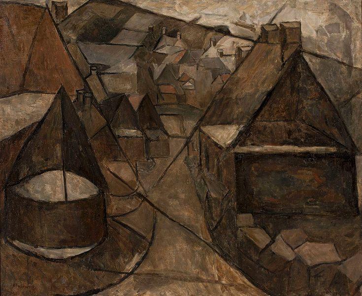 Tadeusz Makowski <em>Pejzaż bretoński ze studnią</em> | 1913, Muzeum Narodowe w Warszawie