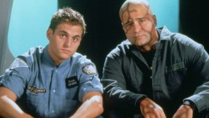 Michael and Peter DeLuise as Tony Piccolo and Dagwood
