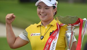 Ha Na Jang moved into the South Korean Olympic team mix with her victory Sunday at the HSBC Women's Champions in Singapore.