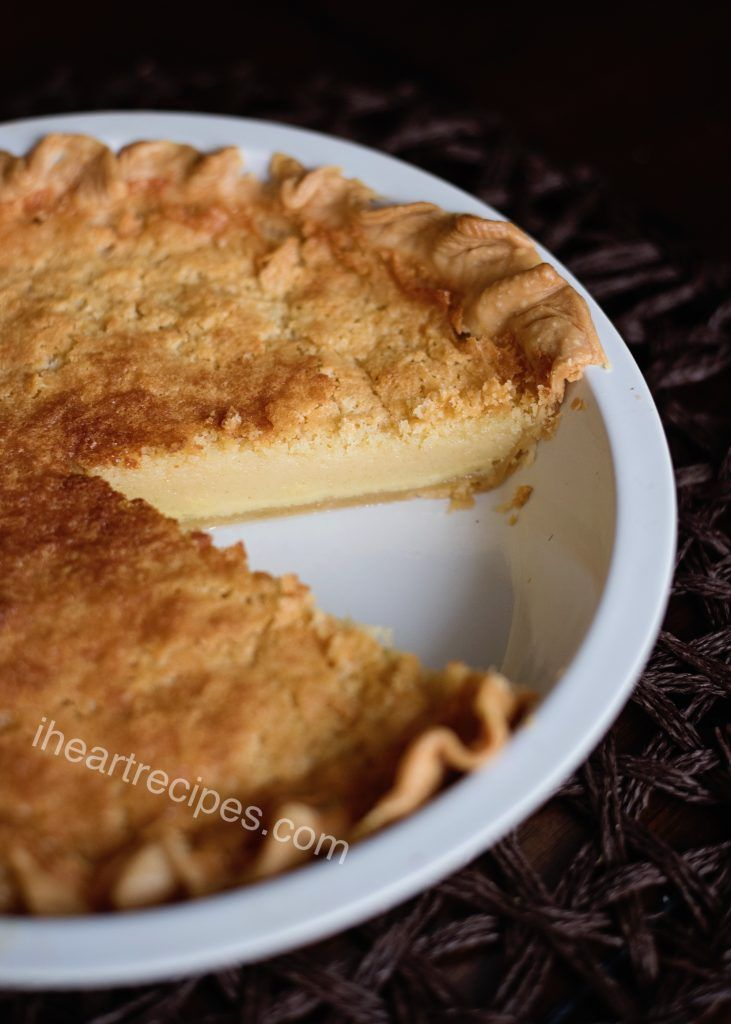 Old Fashioned Buttermilk Pie I Heart Recipes Recipe Buttermilk Pie I Heart Recipes Buttermilk Recipes