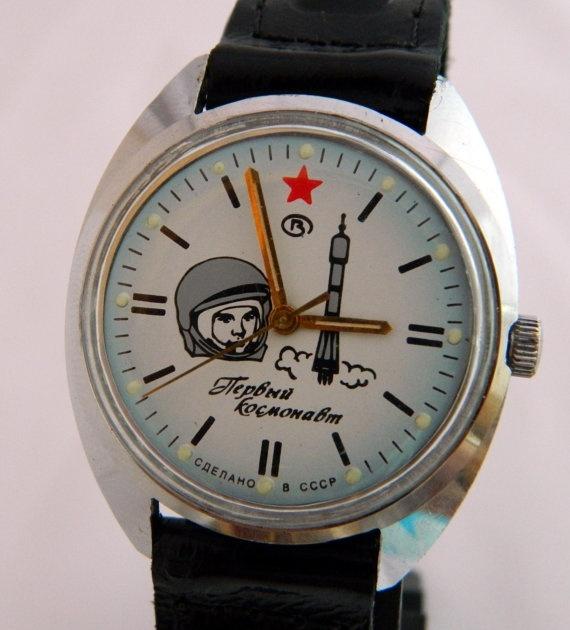 98f49f81baa3 USSR Russian watch Wostok Vostok Komandirskie GAGARIN