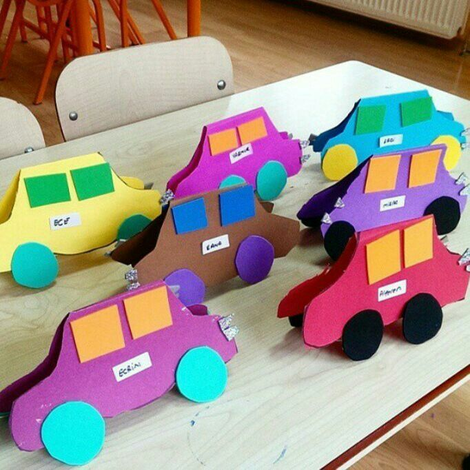 preschool transportation crafts for kıds (1)