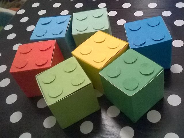 Lego blocks, boxes, diy