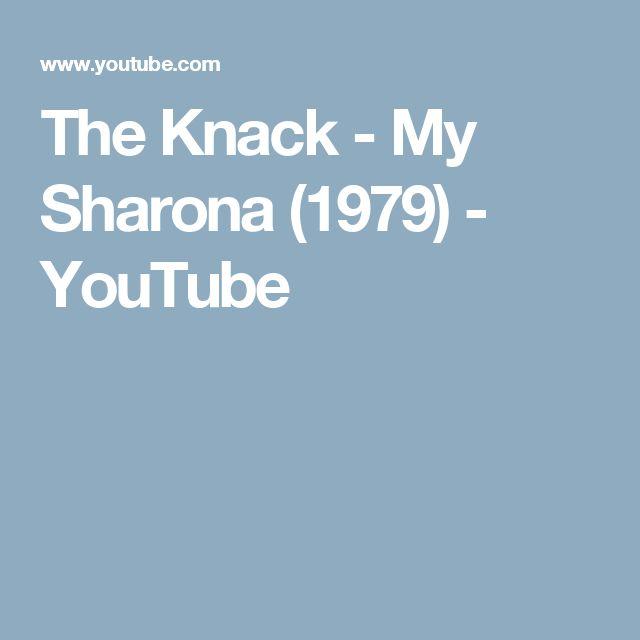 The Knack - My Sharona (1979) - YouTube