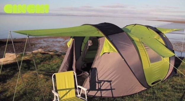 Check out Solar Powered Tent Roundup (The Best of Both Worlds) at http://pioneersettler.com/solar-powered-tent-list/