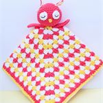 Crochet Owl Snuggle Buddy