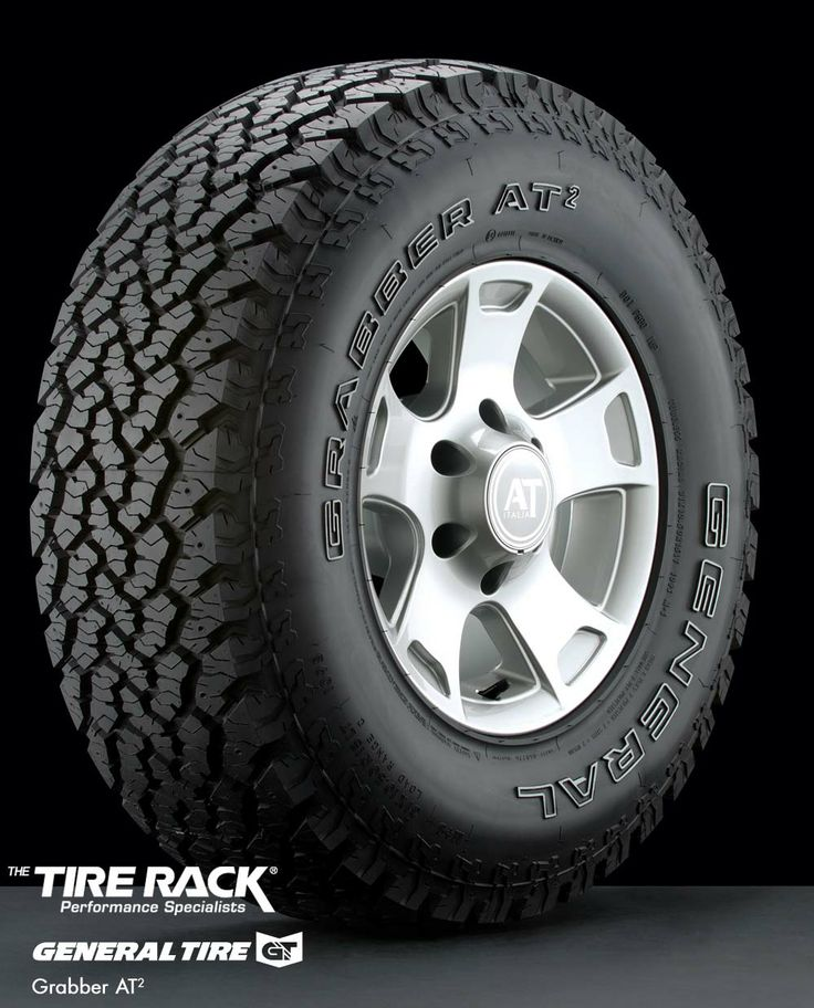 General Grabber At2 Tires From Tire Rack Better Than Bf Goodrich All Terrain Because The Lugs Are More Vertical And In Line With Plane Of Rota