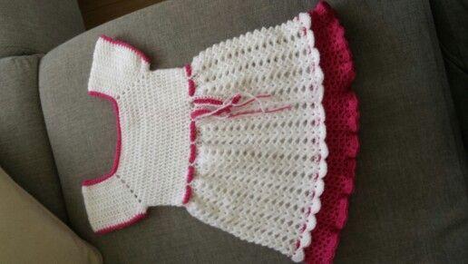 Eigen ontwerp baby peuter jurk