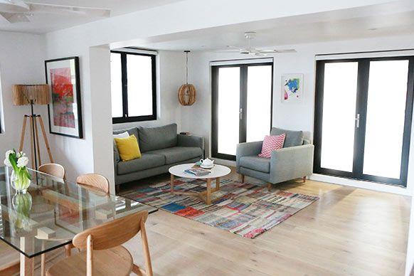 The Block Sky High: Room Reveal: Alisa + Lysandra's living room