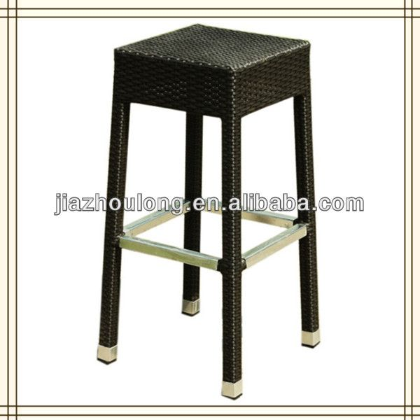 rattan wicker outdoor bar stools aluminum bar stool outdoor bar stools frame w powder coat foot cover