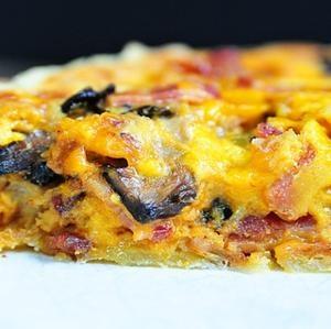 Bacon and Mushroom Quiche Recipe