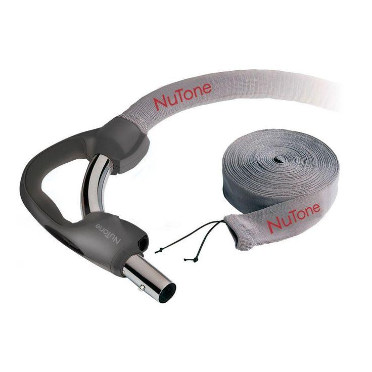 Central Vacuum System Hose Sock, Grays
