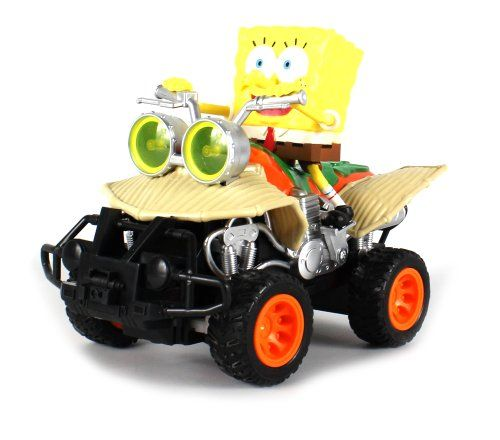Nickelodeon Spongebob Squarepants Spongebob ATV Electric RC Truck Ready To Run RTR * Read more reviews of the product by visiting the link on the image.Note:It is affiliate link to Amazon.