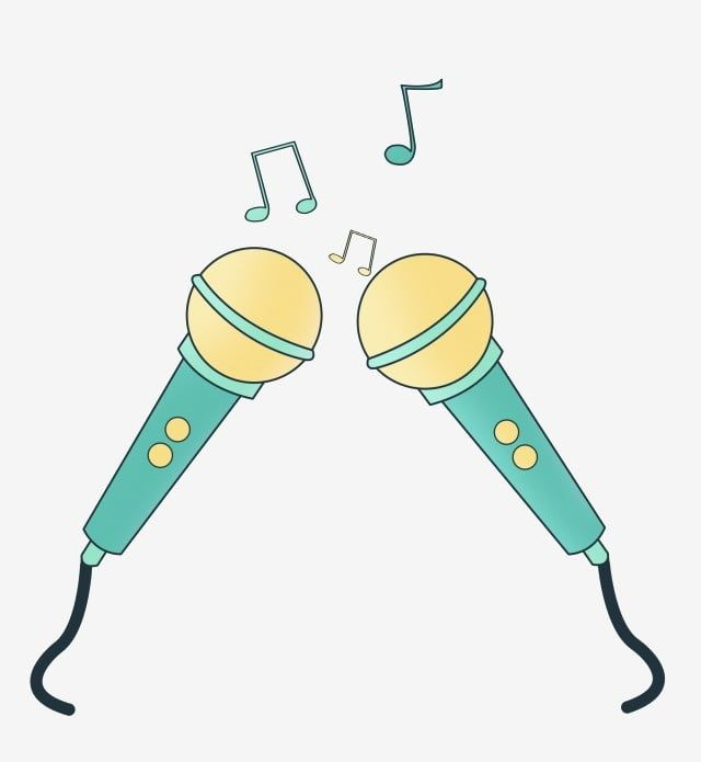 Good Voice Microphone Microphone Illustration Singing Microphone Green Microphone Music Microphone Png Transparent Clipart Image And Psd File For Free Downlo Clip Art Singing Microphone Illustration