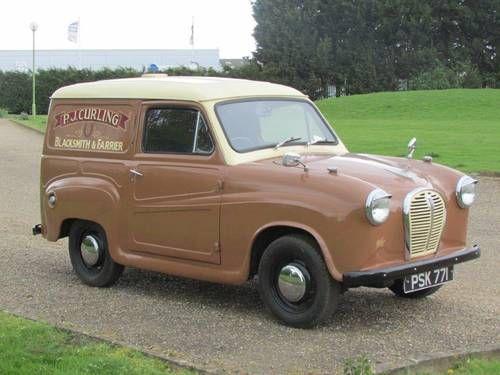 1960 Austin A35 Van. Classic Micro Car. Art&Design #ClassicCarArtDesign @Classic Car Art&Design