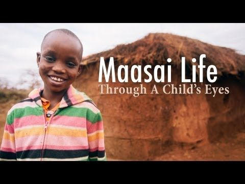 Everyday life seen through the eyes of a Maasai girl ( 1st person point of view)