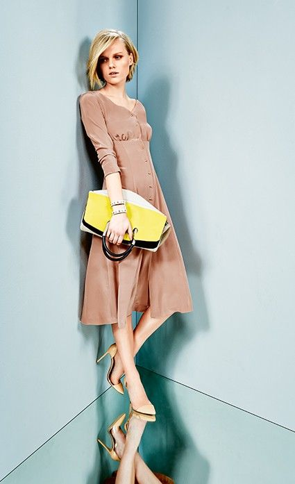Burda Style Vestido com saia de panos - MULHER - MOLDES PARA DOWNLOAD - LOJA…