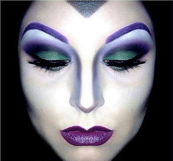 Maquillaje de fantasía: bruja.