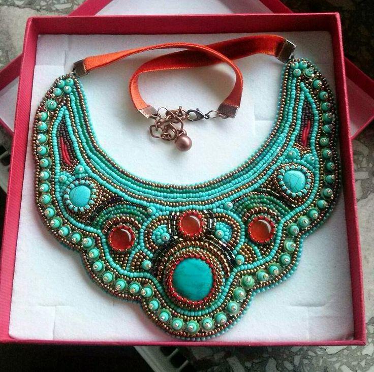 AtorodArt - biżuteria mój cudowny świat: Kolia