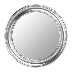"DECOR: SONGE mirror, silver color Diameter: 28 3/8 "" Diameter: 72 cm $49.99"