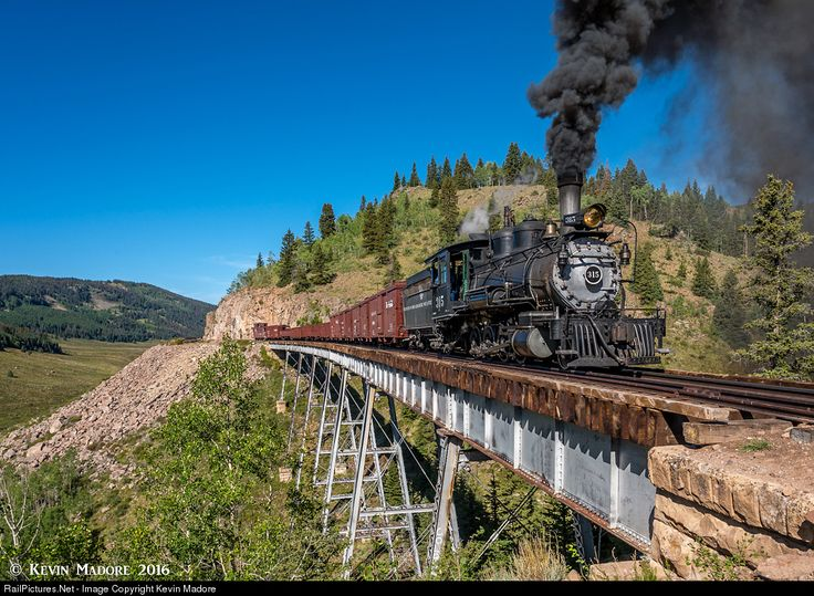 RailPictures.Net Photo: DRGW 315 Denver & Rio Grande Western Railroad Steam 2-8-0 at Osier, Colorado by Kevin Madore