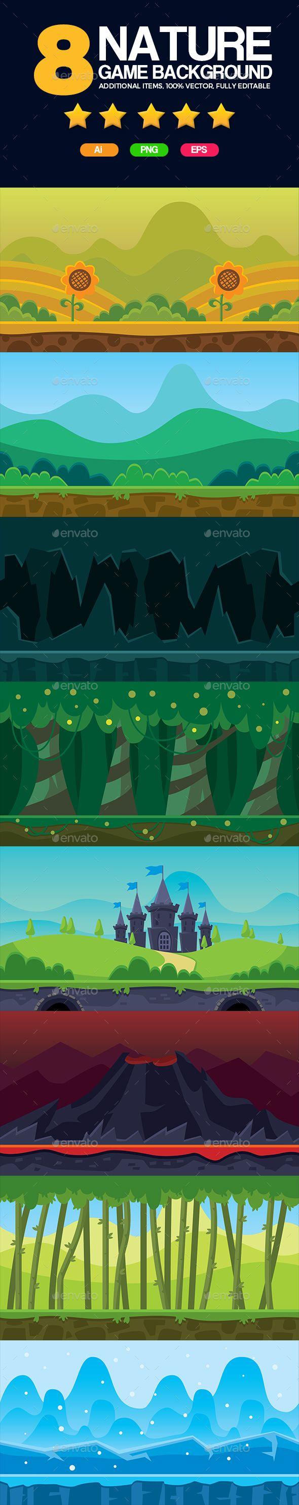 8 Set Game Backgrounds