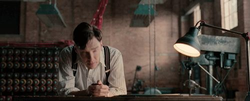 """Cumberbatch plays Alan Turing, the heroic, tragic mathematician credited with breaking the German Enigma Code during World War II. 