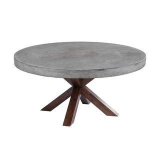 Sunpan 'MIXT' Warwick Round Dining Table | Overstock.com Shopping - The Best Deals on Dining Tables