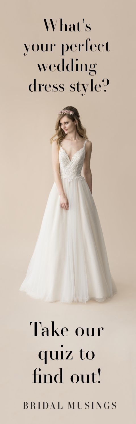 Take Our Fun Wedding Dress Quiz With Moonlight Bridal To Find Your Perfect Gown