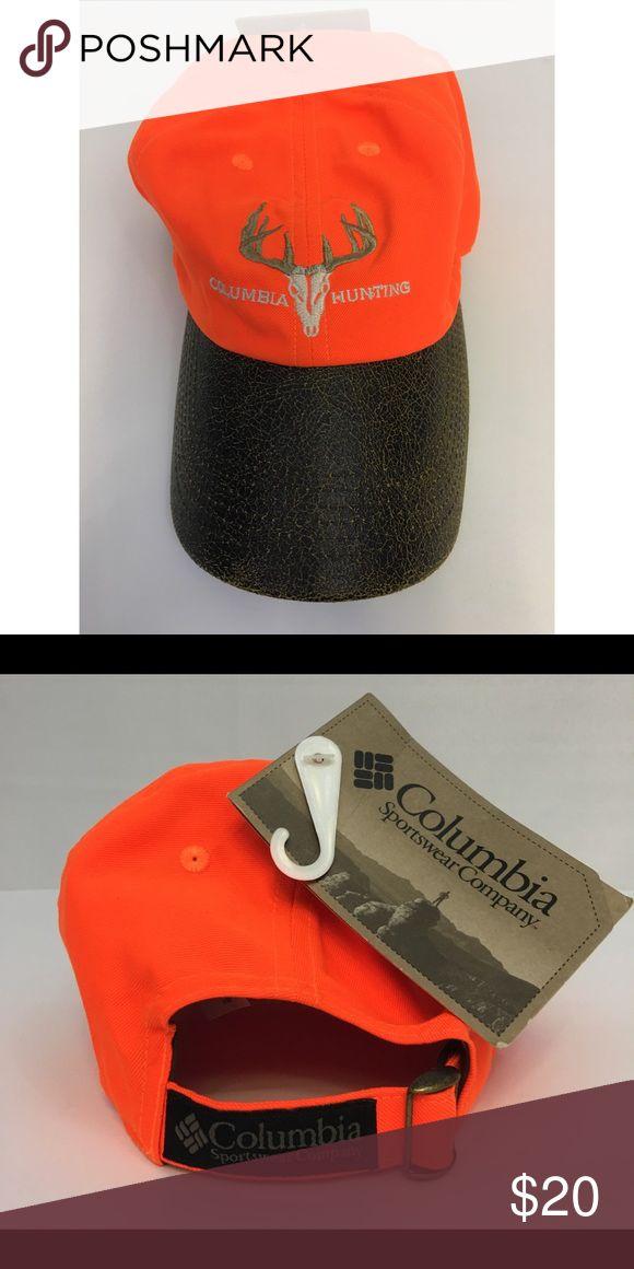 Columbia Sportswear Company Hunting Cap NWT, Rare, Unisex, Columbia Hunting Cap in Hunters Orange. Columbia Sportswear Accessories Hats