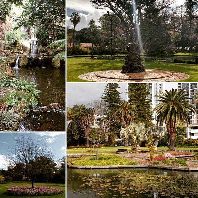 Perth city of beautiful gardens