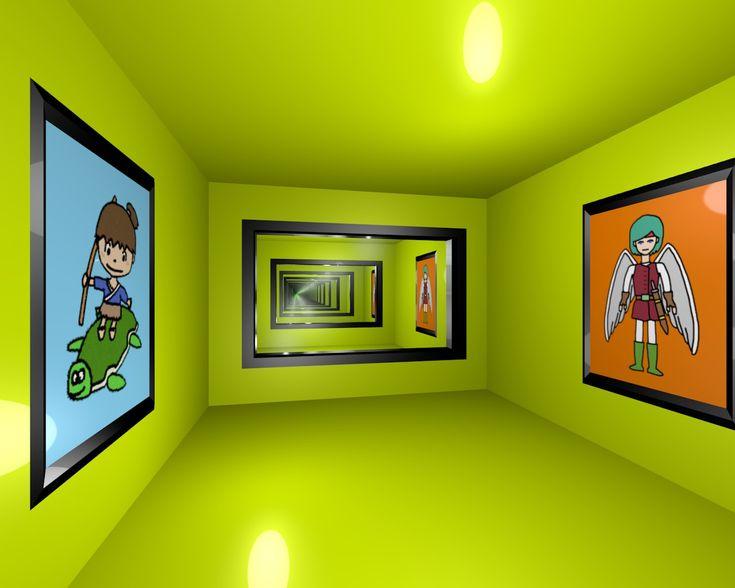 Infinity Mirror Room / #SXGA