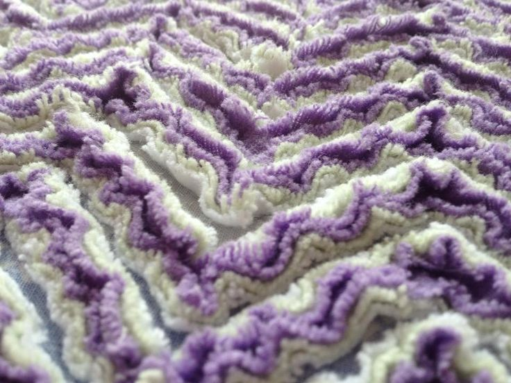 Have you ever made Chenille? Here are some videos on making chenille. First…