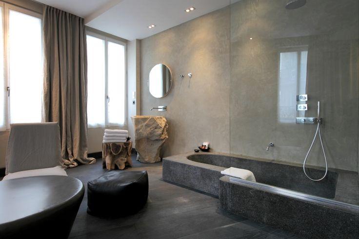 Luxury boutique hotel hidden hotel paris by for Best design boutique hotels paris