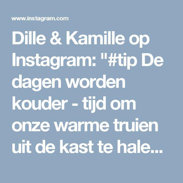 """Dille & Kamille op Instagram: """"#tip De dagen worden kouder - tijd om onze warme truien uit de kast te halen. Wist je dat je met een puimsteen de pluisjes op je wollen…"""""""