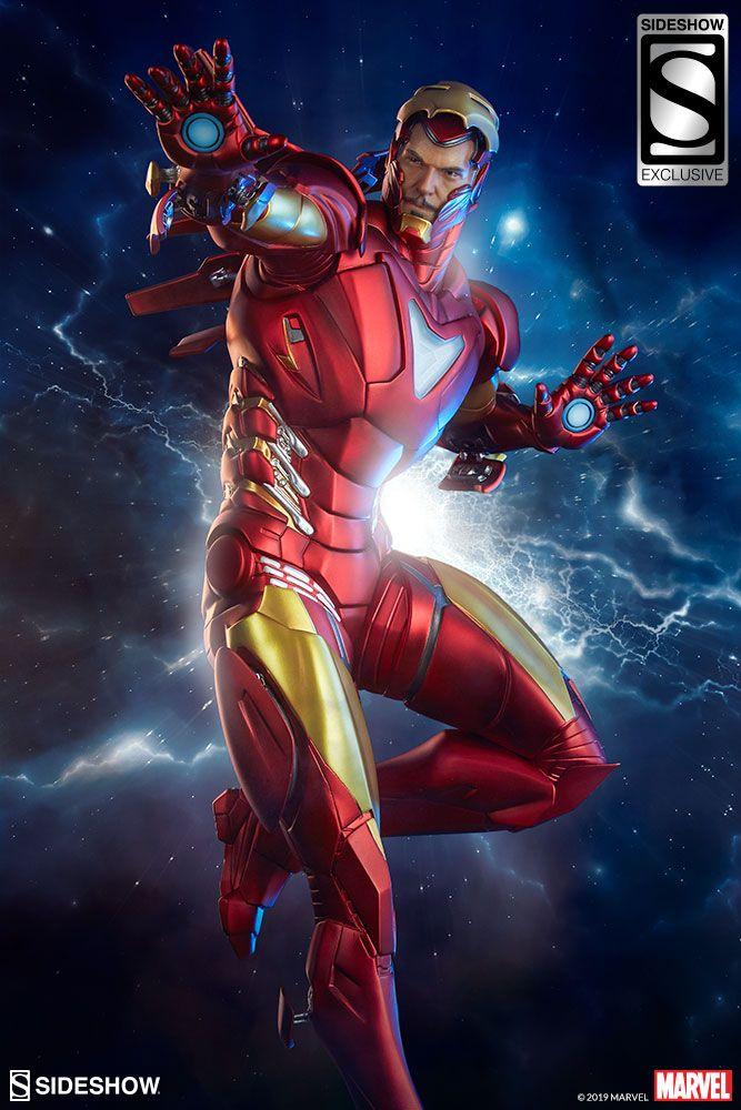 Marvel Iron Man Extremis Mark Ii Statue By Sideshow Collecti Sideshow Collectibles Iron Man Marvel Iron Man Marvel