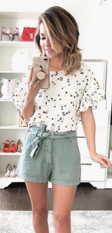 ee538d520 45 Lovely Style Summer Outfit Ideas | short girls outfit | Summer outfits,  Casual outfits summer classy, Chic summer outfits