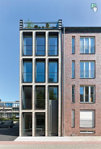 LK | Architekten: Wohn- und Bürohaus Schwalbengasse 32 Köln