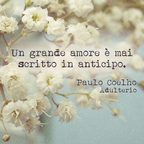 Un grand amour n'est jamais écrit a l'avance