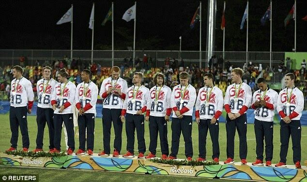 Mens Rugby Sevens silver medal in Rio