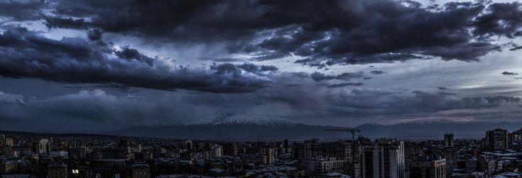 Cloudy Evening by Karen Hakobyan on 500px